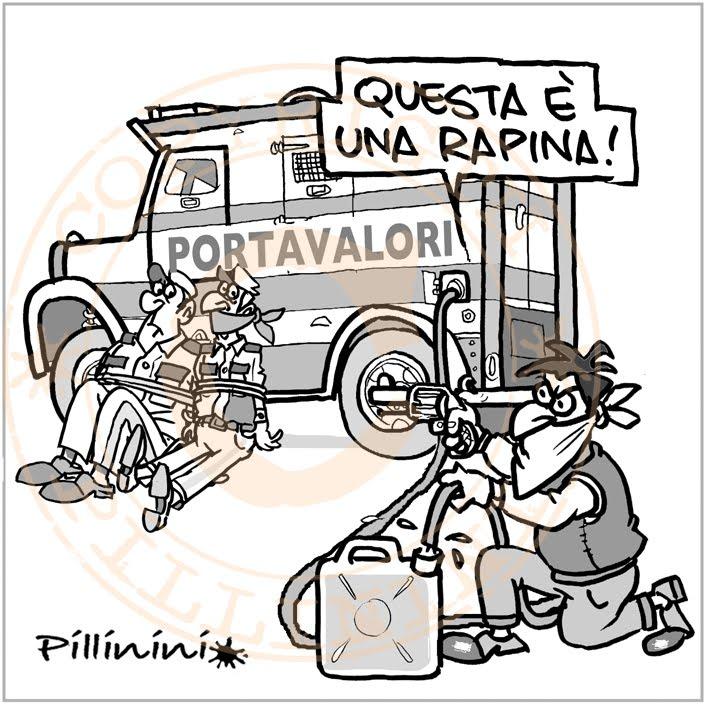 Il prezzo della benzina – vignetta