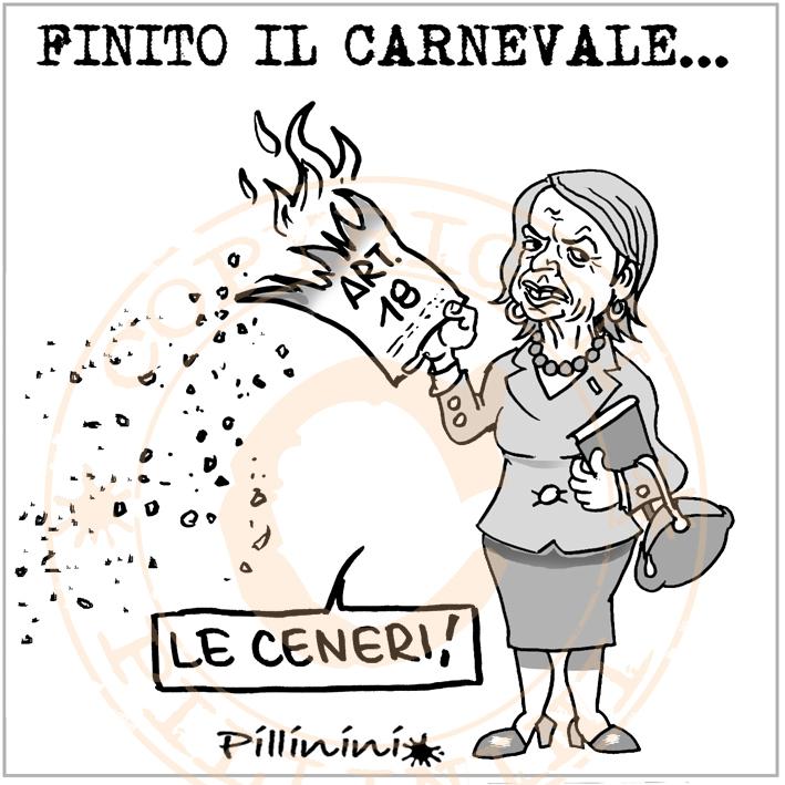 Il Carnevale della Fornero – vignetta