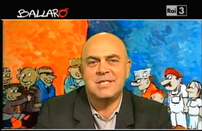 """Crozza e """"la notte bianca"""" di Alemanno (Ballarò, 07.02.2012)"""