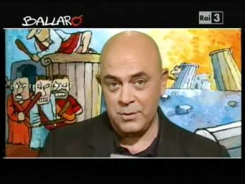 """Crozza a Ballarò: """"io non copio dalla rete"""" – video (Ballarò 14.02.2012)"""