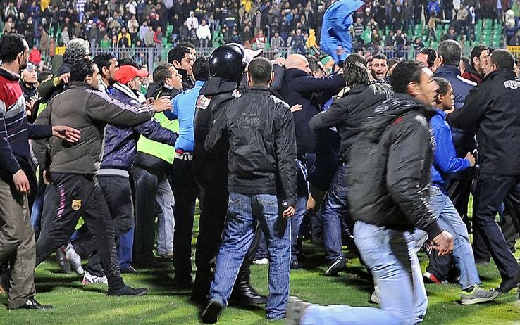 Follie egiziane, una strage per una partita di calcio