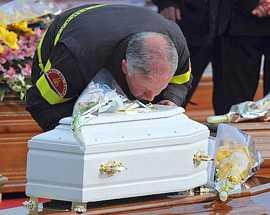 L'Aquila, inchiesta sui funerali di Stato