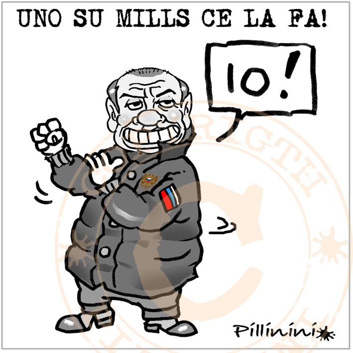 """Uno su """"Mills"""" ce la fa – vignetta"""