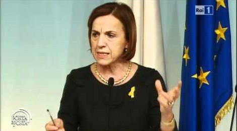 Elsa Fornero, il licenziamento per ragioni economiche – video