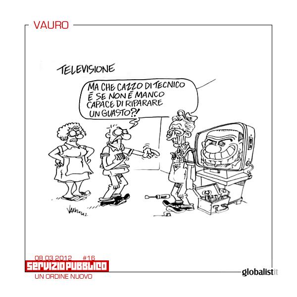 Critiche per Monti – vignetta