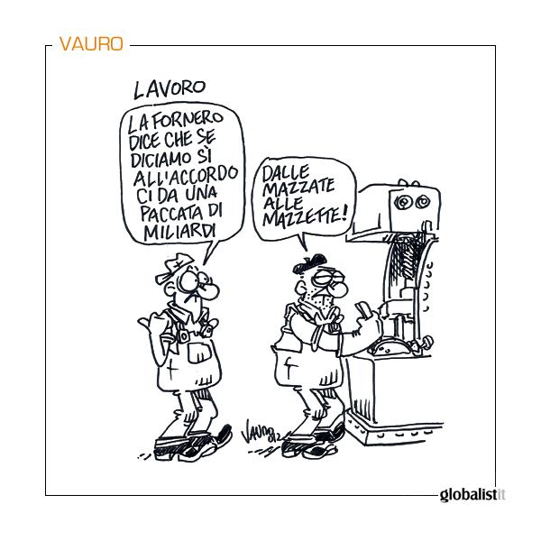 "Niente ""paccata"" senza riforma – vignetta"