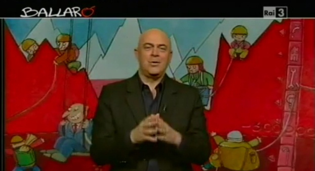 Lo show di Crozza su Formigoni, Grillo e i finanziamenti ai partiti – [Ballarò 17.04.2012] – VIDEO