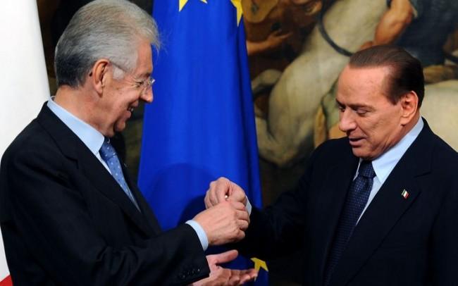 Monti, Berlusconi e la speranza di crescere (che non c'è)