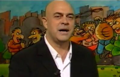 """Crozza a Ballarò e gli italiani """"pecoroni"""". Poi imita Alfano – VIDEO (24.04.2012)"""