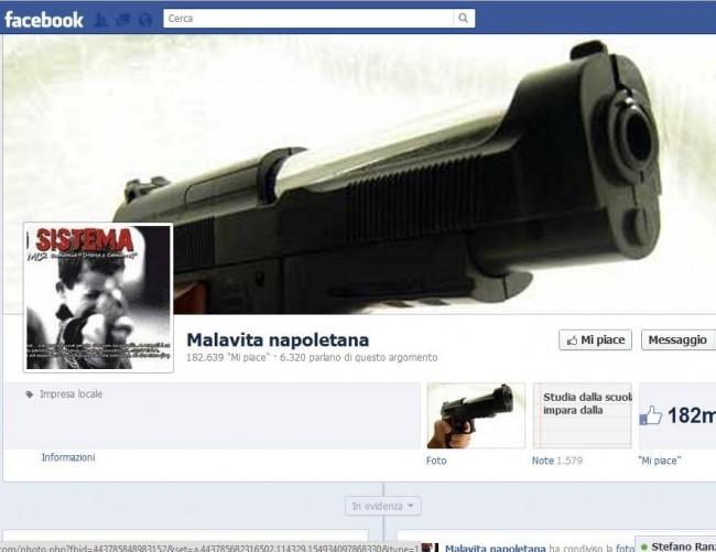 Se la Camorra diventa uno status symbol su Facebook