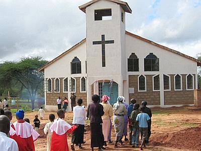 Chiesa in Kenya (internet)