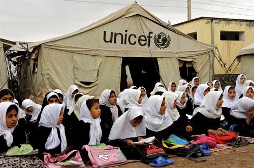 L'Unicef lancia l'allarme per i bambini dell'Afghanistan