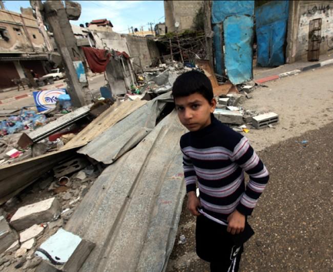 Quell'acqua negata ai bambini di Gaza