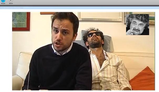 Satira: Pizzarotti presenta via Skype a Grillo il nuovo assessore