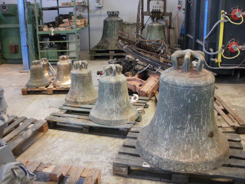 Chiesa e crisi economica boom delle campane usate for Prezzo bronzo al kg usato