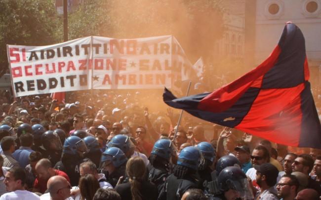 """Taranto paralizzata, """"L'Ilva non può chiudere"""""""