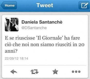 Lo strafalcione grammaticale di Daniela Santanché