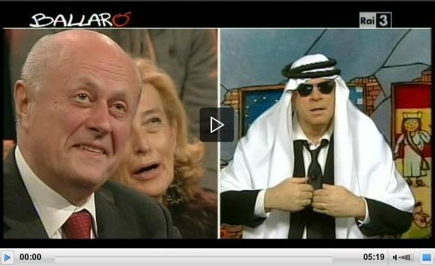 Crozza a Ballarò, se la prende con Renzi e Tabacci – VIDEO (20/11/2012)