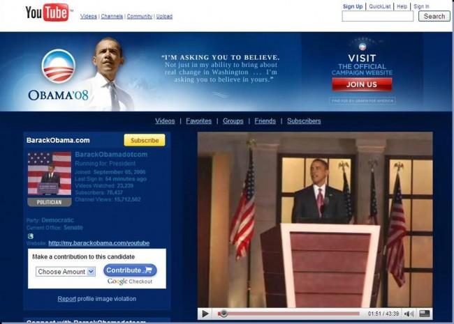 Obama, la vittoria passa anche dai social network