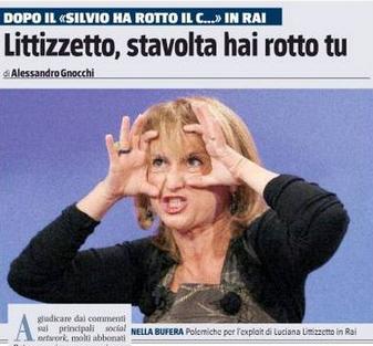 Così il Giornale risponde a Luciana Littizzetto – GUARDA