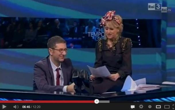 Luciana Littizzetto e la letterina a Babbo Natale – Che tempo che fa 23/12/2012 – VIDEO
