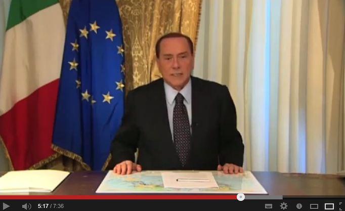 Quando Berlusconi aveva annunciato il suo ritiro