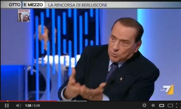 """Berlusconi: """"Tre giudichesse femministe e comuniste"""". Poi la lezioncina alla Gruber – VIDEO"""