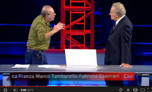 Serviziopubblico: Le vignette di Vauro – 10/01/2013 – VIDEO