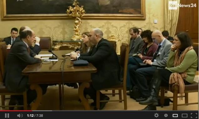 La consultazione tra Bersani e il M5S – IL VIDEO