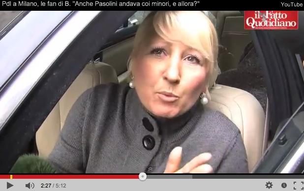 Cara elettrice Pdl, ecco cosa scriveva Pasolini