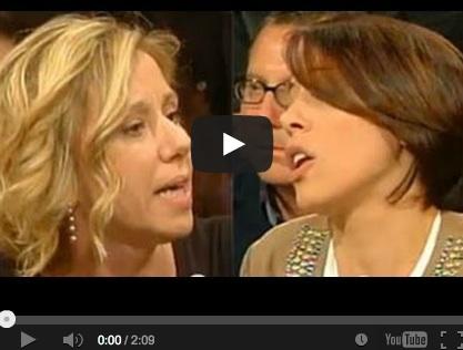 Quasi rissa a Ballarò tra Concita De Gregorio e la Nunzia De Girolamo – VIDEO