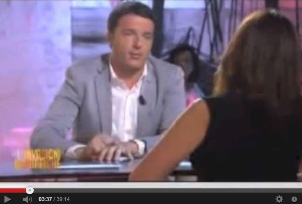 """Renzi: """"Eleggere Marini è un dispetto al Paese"""""""