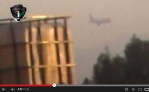 Siria, il video dell'abbattimento di un aereo cargo