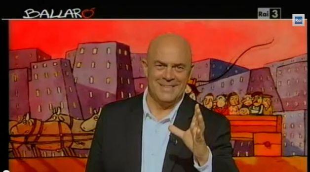 Crozza a Ballarò, esilarante sulla condanna di Berlusconi e sul Pd – VIDEO
