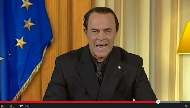 Crozza imita Berlusconi