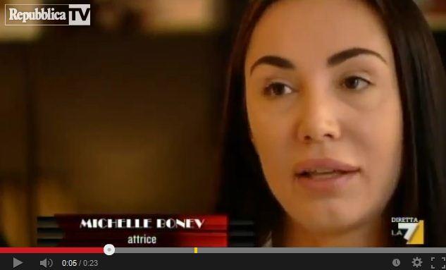 """La Bonev: """"Sono stata con Berlusconi per la fiction"""""""