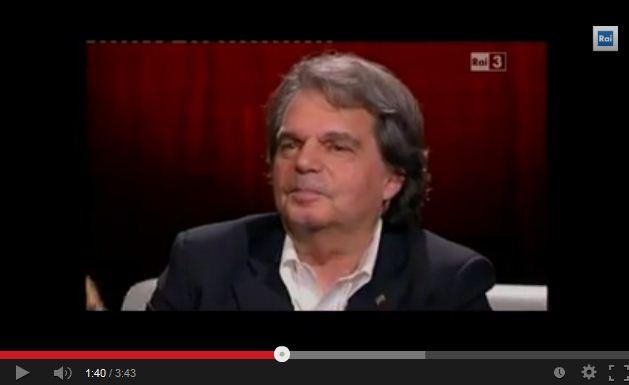 Brunetta contro Fazio, è scontro sullo stipendio del giornalista di Che Tempo che fa – VIDEO