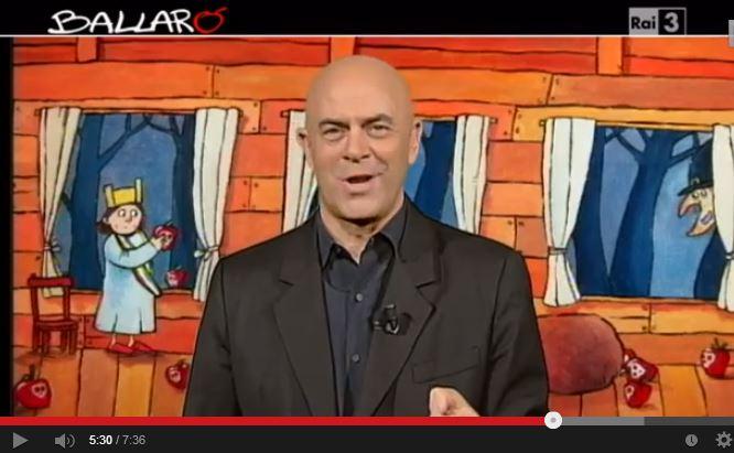 Crozza a Ballarò, esilarante su Letta e Berlusconi – VIDEO