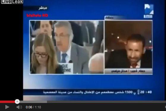Siria: l'autobomba esplode in diretta tv – VIDEO