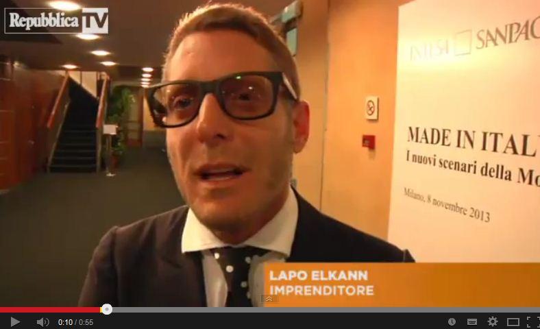 """Lapo Elkann: """"Basta figli di … ci vuole il merito"""" – VIDEO"""