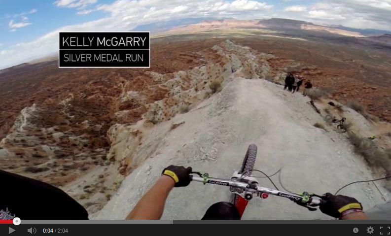 Al cardiopalma: con una MB sul ciglio del canyon – VIDEO