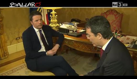 Renzi e le promesse sul risanamento