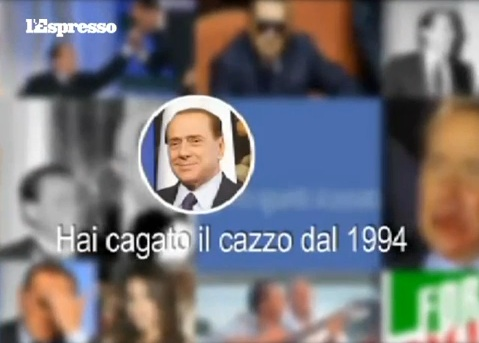 Satira: Il Facebook-film di Silvio Berlusconi – VIDEO
