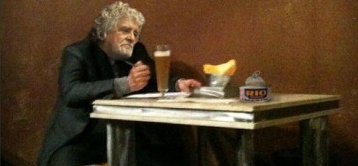 Grillo crolla alle Europee. E sul web si scatena l'ironia: come Bersani – FOTO