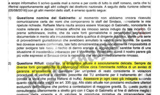 Ecco la mail inviata a Di Maio sulla Muraro, lui: «Non l'ho capita» – FOTO