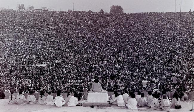 Discorso di apertura a Woodstock
