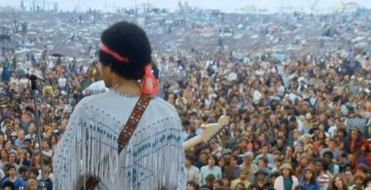 Jimi Hendrix a Woodstock