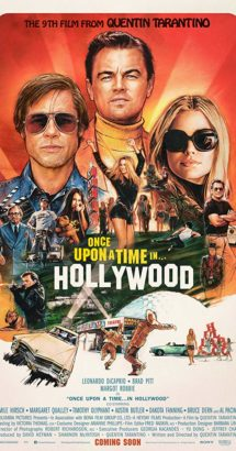 "Locandina ""Once upon a time in Hollywood"""