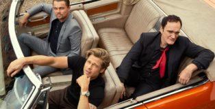Tarantino, Pitt e Di Caprio copertina