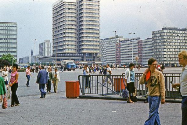 Alexander Platz durante la DDR
